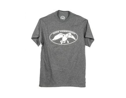 Duck Commander Logo Gray T-Shirt, Size Small - DCSHIRTCWLS