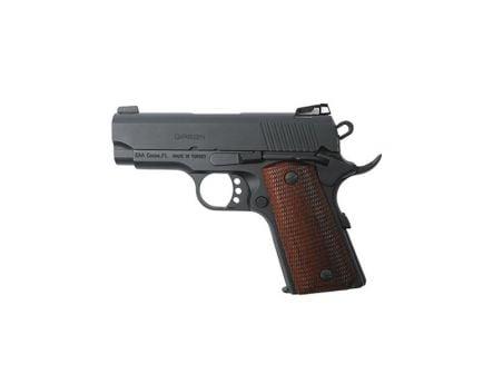 EAA Corp Girsan MC1911SC (Officer) 9mm Pistol, Blk - 390045