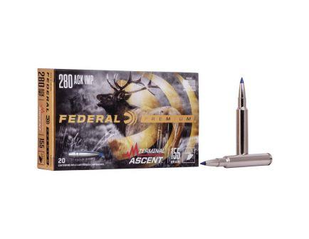 Federal 155 gr Terminal Ascent .280 Ammo, 20/pack - P280AITA1