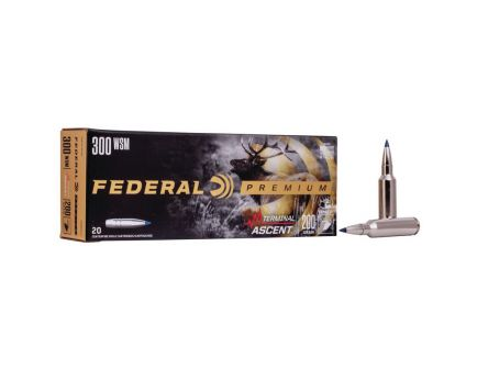 Federal 200 gr Terminal Ascent .300 WSM Ammo, 20/pack - P300WSMTA1