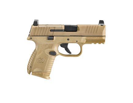FNH FN 509 Compact MRD 9mm Pistol, FDE - 66100575