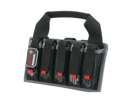 G5 Outdoors Magazine Tote, 10 Compartments, Black - 1006MAG