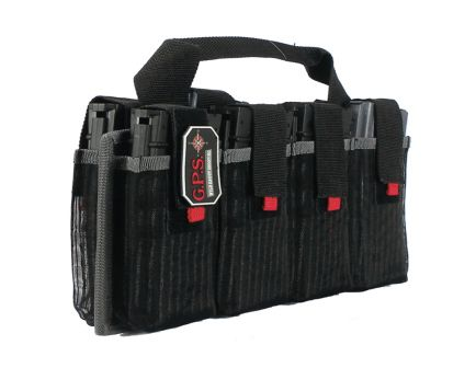 G5 Outdoors Magazine Tote, 8 Compartments, Black - 1365MAG