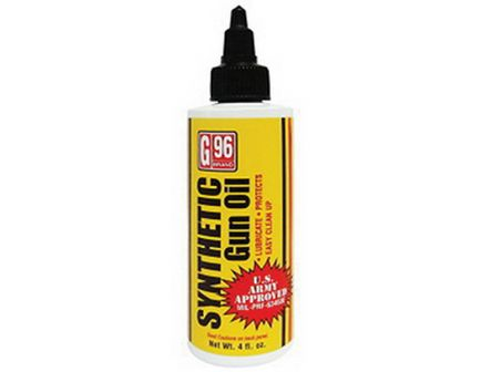 G96 Products Synthetic CLP Gun Oil, 4 fl oz Bottle - 1053