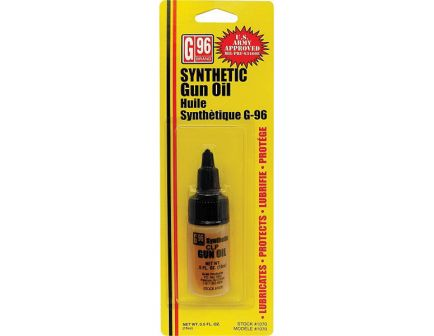 G96 Products Synthetic CLP Gun Oil, 0.5 fl oz Bottle - 1070