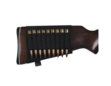 GrovTec 9 Shell Rifle Buttstock Ammo Holder, Black - GTAC81