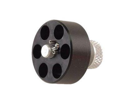HKS M Series 22 LR 6rd Speedloader Fits Ruger SP101 & S&W 34/35/43/63/K Frame, Black - 22J