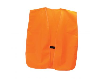 HME Polyester One Size Fits Most Safety Vest, Orange - VESTOR
