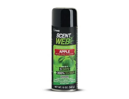 HME Scent Web Scented Foam String, 5 oz Can, Apple - SW-APPLE