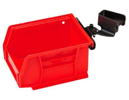 Hornady Lock-N-Load Universal Bin w/ Bracket, Red - 366692