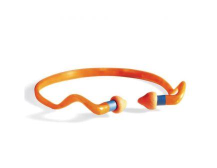 Howard Leight Quiet 25 dB Ear Plug w/ Reusable Pods, Orange, 1 Pair - R-01538