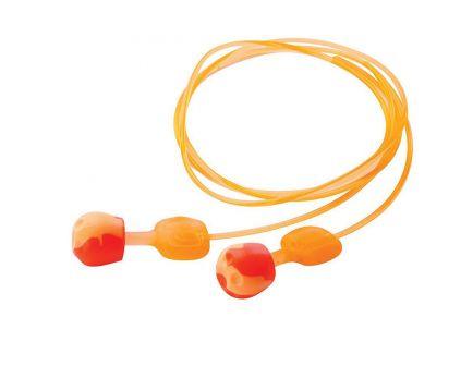 Howard Leight Trustfit 27 dB Corded Ear Plug, Orange/Yellow, 3 Pair/pack - R02237