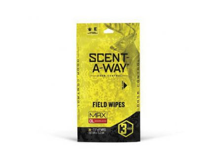 Hunter's Specialties Scent-A-Way Max Field Wipe, 24/pack - 07795