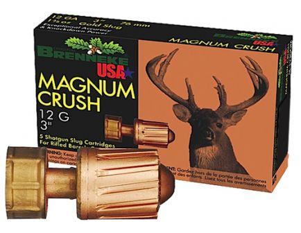 """Brenneke USA Magnum Crush 12 Gauge 3"""" Shotgun Slug, 5/box - SL-123CMR"""