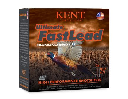"Kent Cartridge Ultimate FastLead 12ga 3"" #6 shot, 25rds - K123UFL506"