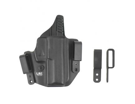 """Lag Tactical The Defender Right Hand 1911 5"""" with Rail IWB/OWB Combo Holster, Black - 6004"""