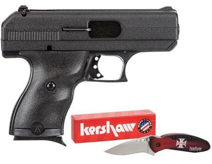 Hi-Point Compact 9mm 8+1 Round Semi Auto Handgun, Black - 916HCKNIFE