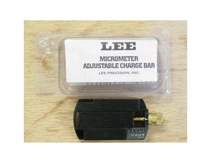 Lee Precision Adjustable Charge Bar, Black - 90792
