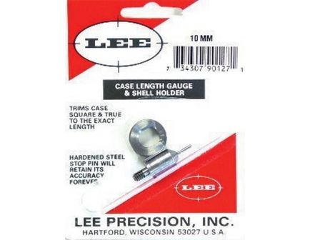 Lee Precision 10mm Steel Case Length Gauge - 90127