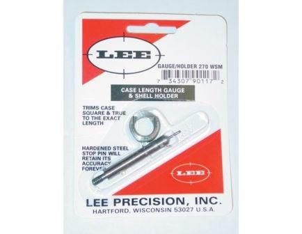 Lee Precision .270 WSM Steel Case Length Gauge - 90117