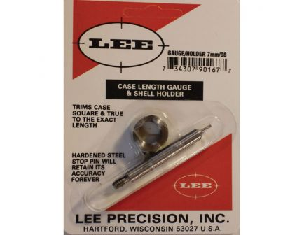 Lee Precision 7mm-08 Rem Steel Case Length Gauge - 90167