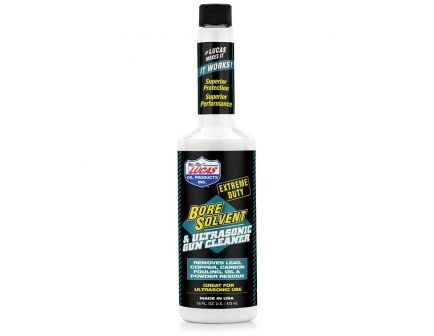 Lucas Oil Extreme-Duty Bore Solvent and Ultrasonic Gun Cleaner, 16 oz Bottle - 10918