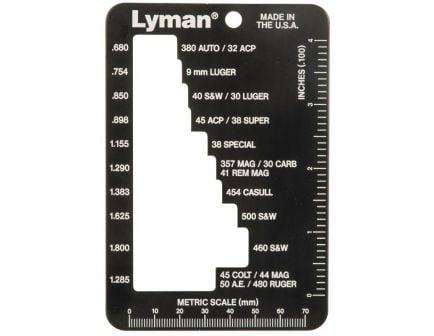 Lyman E-ZEE Pistol Case Gauge - 7832217