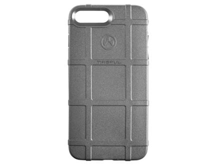 Magpul Industries Semi-Rigid Field Case for iPhone 7/8 Plus, Stealth Gray - MAG849-GRY