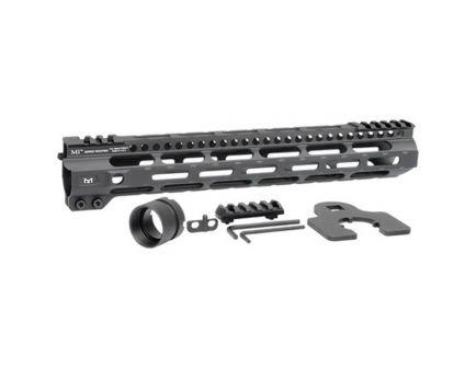 "Midwest Industries MI Combat Rail Lightweight M-Lok 12.625"" AR-15 1-Piece Free Float Handguard - MICRLW12625"