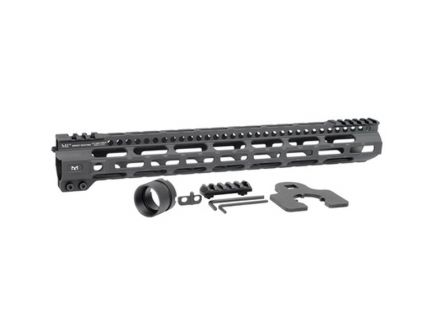 "Midwest Industries MI Combat Rail Lightweight M-Lok 15"" AR-15 1-Piece Free Float Handguard - MICRLW15"