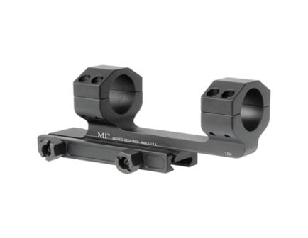 "Midwest Industries 1"" 6061 T6 Aluminum 1-Piece Gen II Scope Mount, Hardcoat Anodized Black - MI-SM1.0G2"