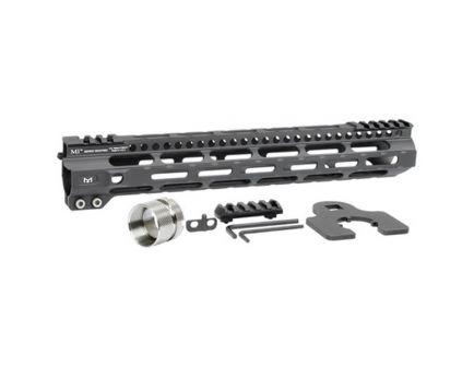 "Midwest Industries MI Ultra Lightweight M-Lok 12.625"" AR-15 1-Piece Free Float Handguard - MIULW12625"