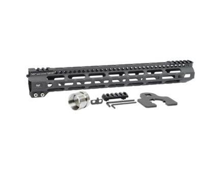 "Midwest Industries MI Ultra Lightweight M-Lok 15"" AR-15 1-Piece Free Float Handguard - MIULW15"
