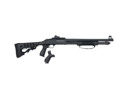 """Mossberg 590 SPX 18.5"""" 12 Gauge Shotgun 3"""" Pump, Blk - 50696"""