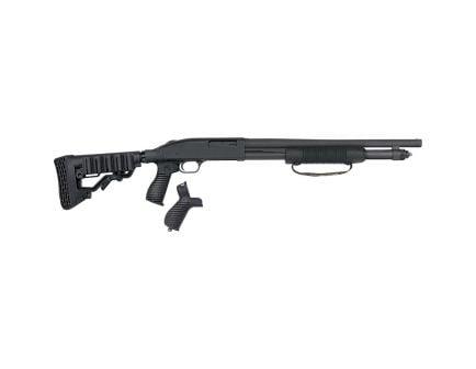 "Mossberg 590 7-Shot 18.5"" 12 Gauge Shotgun 3"" Pump, Blk - 50691"