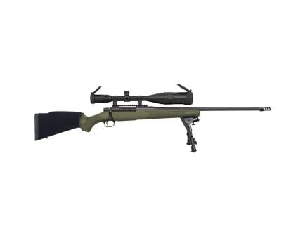Mossberg Patriot Night Train .300 Win Mag Bolt Action Rifle w/ 6-24x50mm Scope, OD Green - 28122