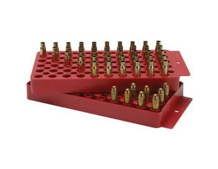 MTM Case Gard 50 Round Reloading Tray, Red - LT150M30