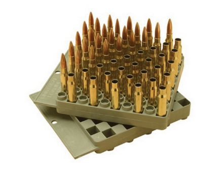 MTM Case Gard 50 Round Compact Reloading Tray, Gray - LT5043