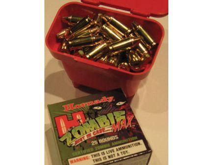 MTM Case Gard Case-Gard Ammo Belt Pouch, 100 Rounds, Smooth Red - ABP