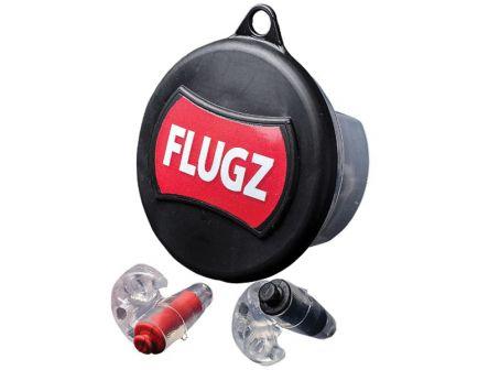 Otis Flugz 21 dB Inside the Ear Formble Earplugs, Black/Red - FG-FL-1C