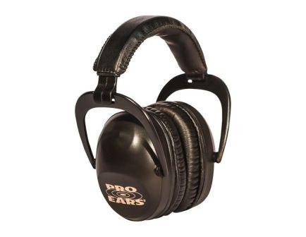 Pro Ears Ultra Sleek 26 dB Over the Head Passive Earmuff, Black - PEUSB