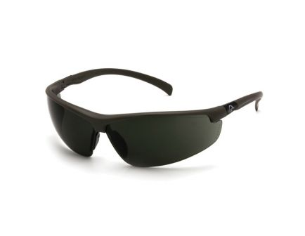 Pyramex Safety Ducks Unlimited Scratch-Resistant Shooting Eyewear, Forest Gray Lens - DUSB6628D
