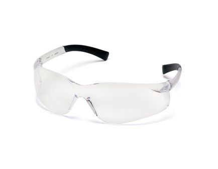 Pyramex Safety Ztek Retail Wraparound Scratch-Resistant Shooting Glasses/Ear Plugs, Clear Lens - PYS2510SDP