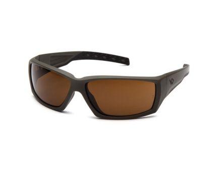 Pyramex Safety Overwatch Wraparound Eyewear, Bronze H2X Anti-Fog Lens - VGSG718T