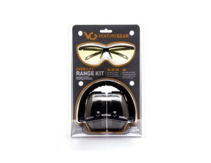 Pyramex Safety Ever-Lite Range Kit, Black/Yellow - VGCCOMB8630