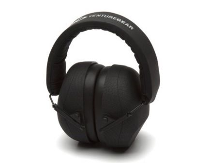 Pyramex Safety VG80 26 dB Over the Head Earmuff, Black Graphite - VGPM8015C