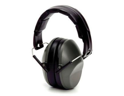 Pyramex Safety VG90 24 dB Over the Head Earmuff, Gray - VGPM9010C