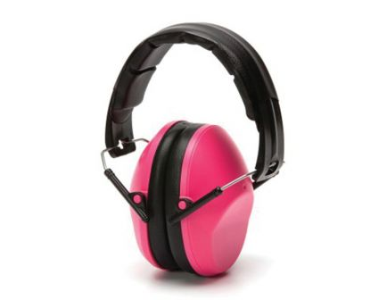 Pyramex Safety VG90 24 dB Over the Head Earmuff, Pink - VGPM9010PC