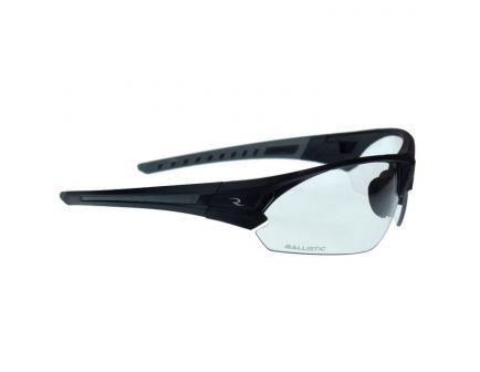 Radians Tactical Bravo Half-Frame Safety Eyewear, Clear Lens, Polymer Frame - CSB102-1BX