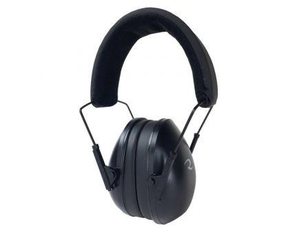 Radians 21 dB Over the Head Tactical Premium Passive Padded Earmuff, Black - CSE40BX